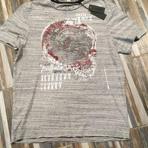 Buffalo David Bitton Cobra Heather Grey T-Shirt